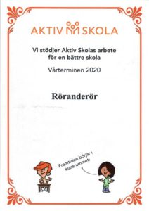 aktiv skola certifikat